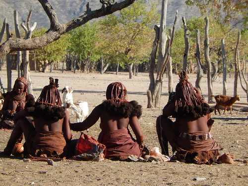 Opuwo - himba dorp 5