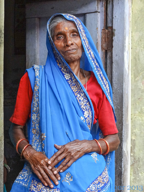 Femme indienne- Indian woman Gwalior --India