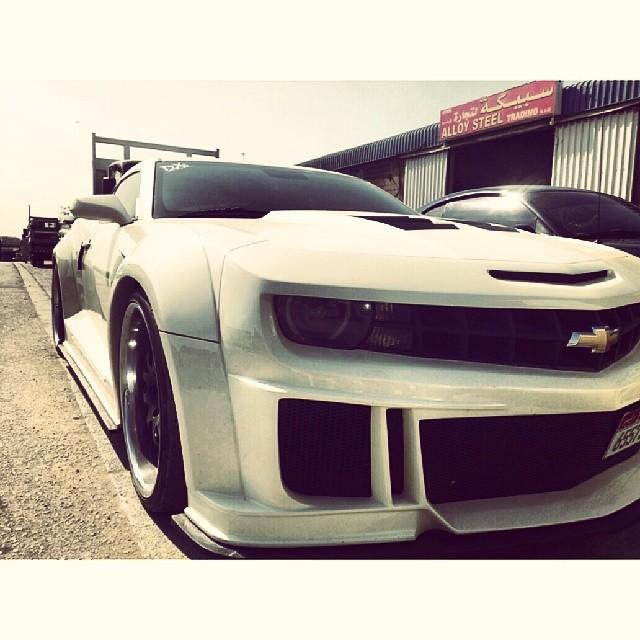 DX garage #dubai #camaro | Chris Johnson | Flickr