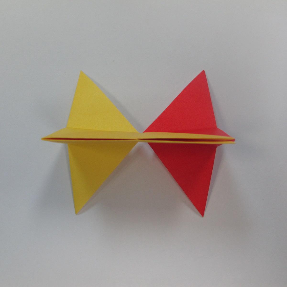 วิธีการพับกระดาษเป็นดาวหกแฉกแบบโมดูล่า 011