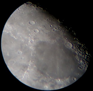 Moon Feb 18th, close on Mare Serenitatis