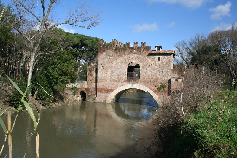 Roma - Ponte Nomentano sull'Aniene