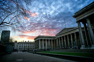 British Museum at sunset | by p_a_h