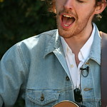 Thu, 13/03/2014 - 2:48pm - Hozier comes by the Hotel San Jose for a video session with WFUV. Photo by Laura Fedele