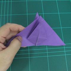 การพับกระดาษเป็นฐานนกอินทรี (Origami Eagle) 013