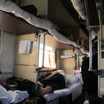 Transsibérien - Dans le train - 3ème classe