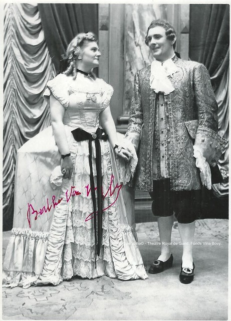 VAN HYFTE, Berthe - SOMERS, Achiel, Frederika - Goethe, Théâtre Royal de Gand