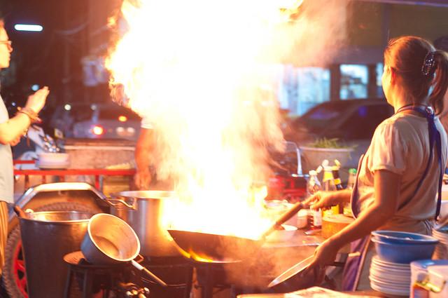 Thai style Fai Daeng