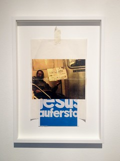 Zavier Ellis 'Caesar's Law', 2013 Inkjet print, c-type print, masking tape, sellotape (framed in True Colour Glass) 37x21cm