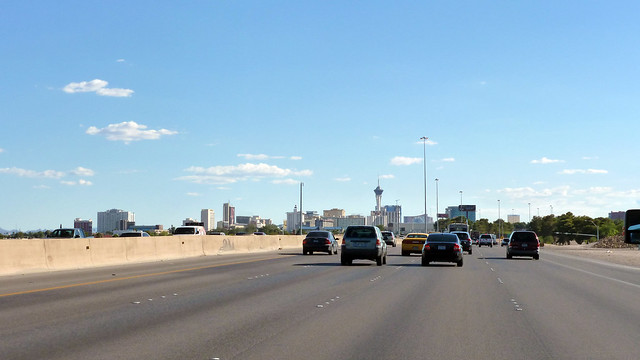 Las Vegas Freeway, Interstate 15 - Nevada