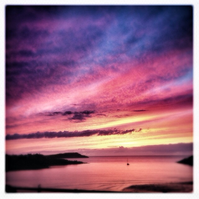 Cemaes Bay at sunset - Explored!!
