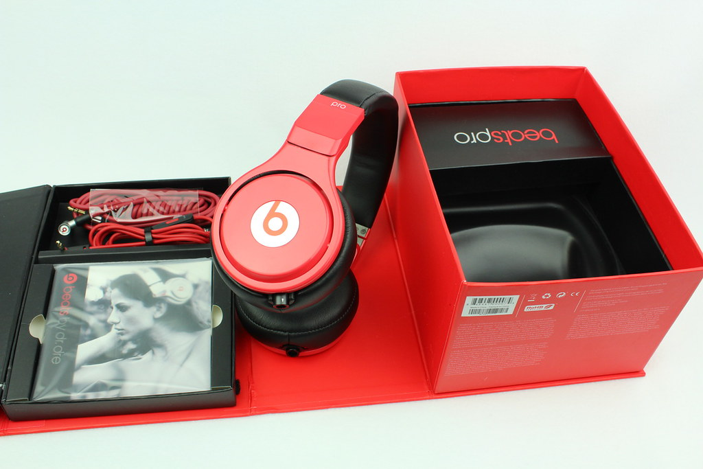 Beats By Dre Pro Lil Wayne Headphones Red And Black 11 Flickr