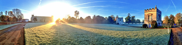 Syon House Front Lawn - Frosty Sunrise by Simon Hadleigh-Sparks (On Explore 16th Nov 2013)
