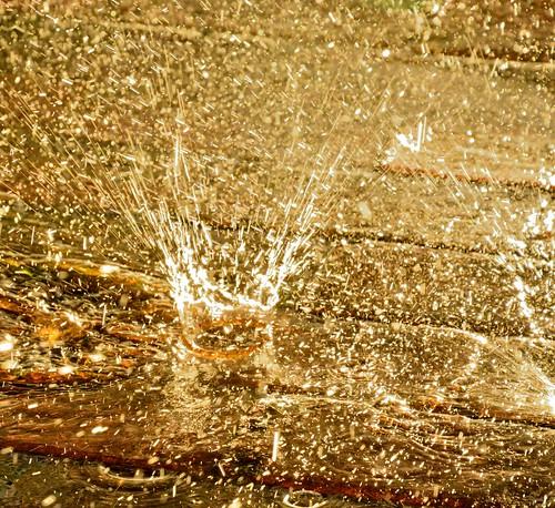 sunlight fall water rain mi hope explosion patio westlake droplet downpour november2103