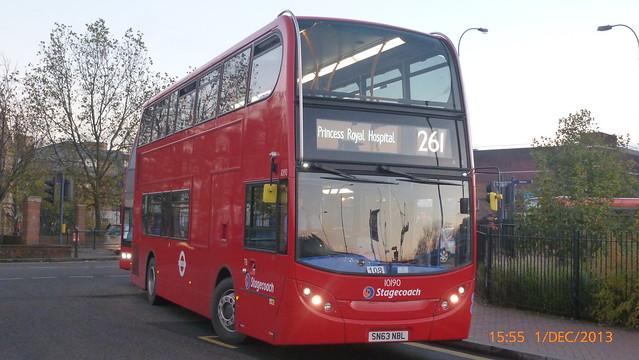 P1180635 10190 SN63 NBL at Lewisham Station Station Road Lewisham London