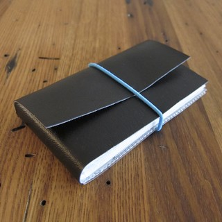 """Iron Craft '14 Challenge 1 - No Sew """"Leather"""" Card Wallet 