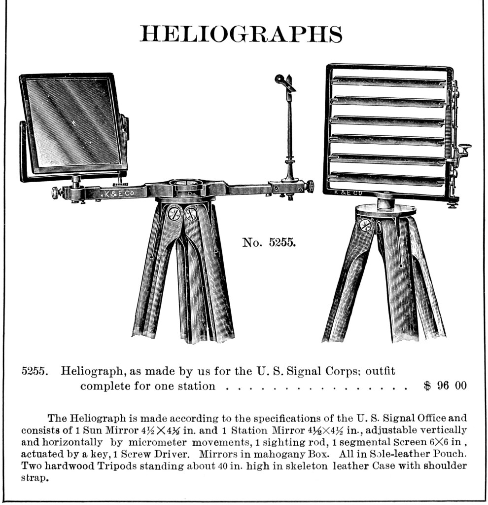 1913 Keuffel Esser Heliograph Diagram I Photographed Th