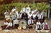 Kapellmeister Michael Braun, er hat über 150 Jugendliche unterrichtet, mit seiner Schülerkapelle 1977. Insbesondere war das Akkordeonspielen modich, sozusagen als Hausmusik, bis Plattenspieler und Tonbänder das übernahmen.