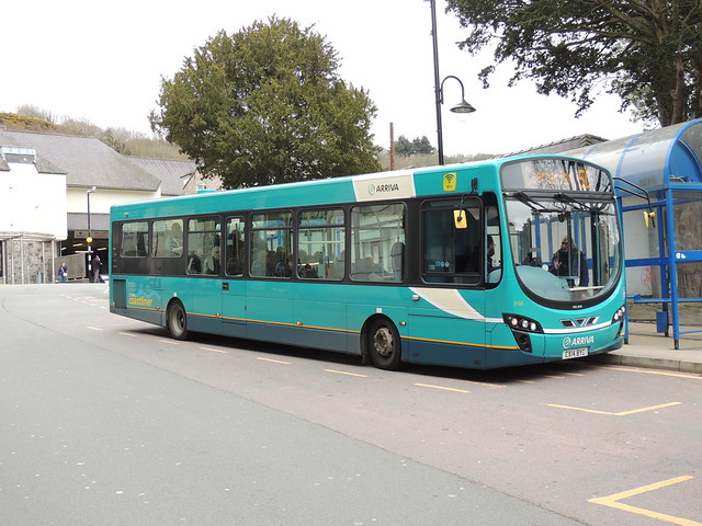 DSCN8693 Arriva Cymru 3166 CX14 BYC