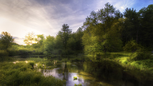 summer sunlight landscape spring pond day cloudy dusk massachusetts newengland calm hdr sigma1020mm pepperell parrick canon7d campagnone