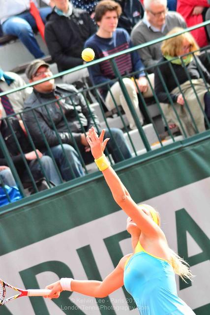 Kristina Mladenovic (France) - French Open 2013
