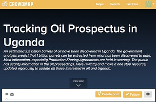 https://crowdmap.com/map/oiluganda/ | by afromusing