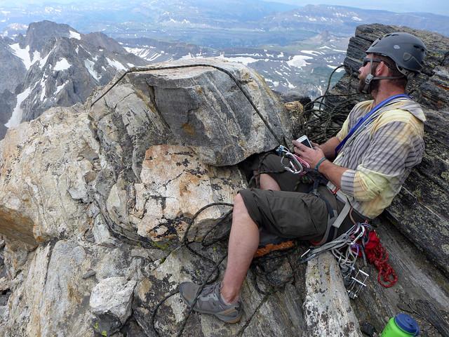 Grand Teton climb