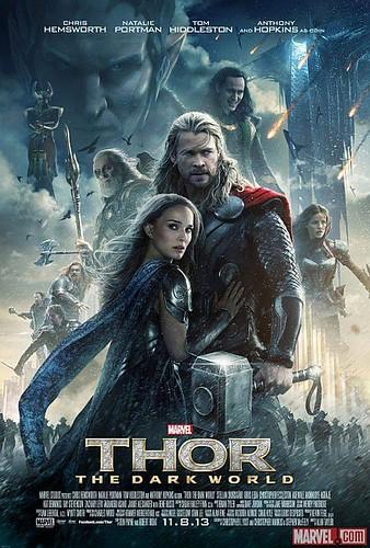 New Poster for Marvel's Thor-The Dark World