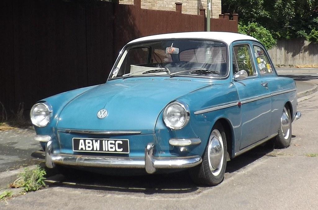 1965 Vw 1500s Type 3 Notchback  288