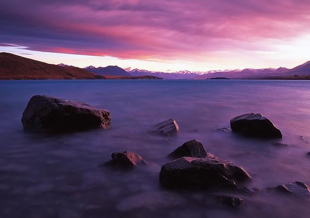 Morning has Broken, Lake Tekapo NZ