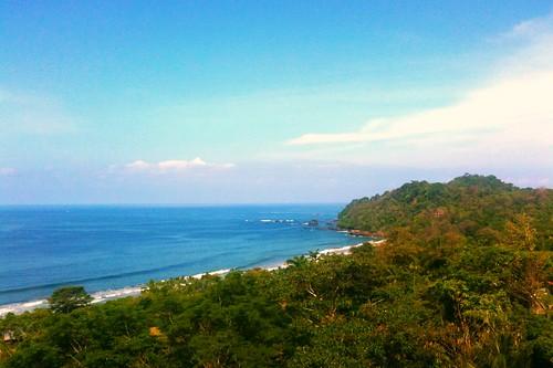 ocean costa beach coast costarica selva jungle