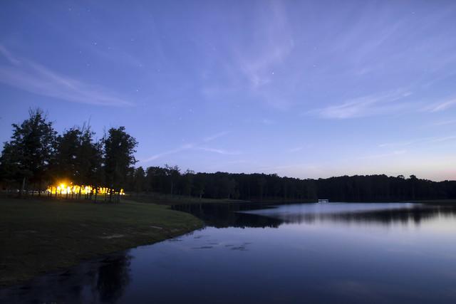Impoundment, Latimer High Adventure Reservation, Van Buren Co, TN