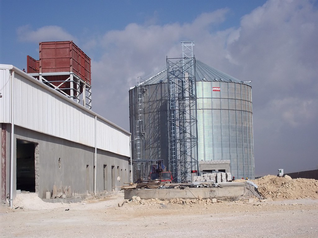 Grain Storage Silo in Jordan