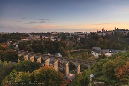 autumn sunset automne de soleil coucher filter nd luxembourg grad ville kirchberg grund cokin lëtzebuerg dräi eechelen