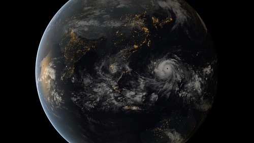 Typhoon Haiyan | by EUMETSAT