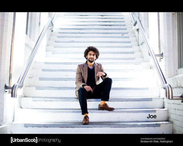 Stranger Portrait Challenge 001 Joe Bond