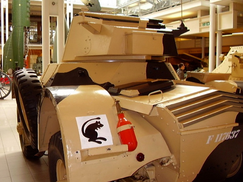 Daimler Armoured Car Mk I (8)