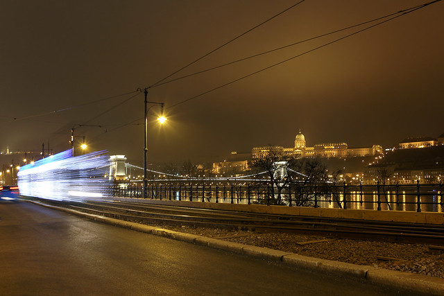 Christmas tram in Budapest 23