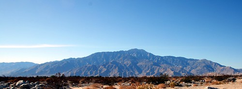 "San Jacinto Mountains and San Gorgonio Pass Wind Farm | by ""Caveman Chuck"" Coker"
