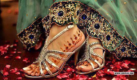 indian pakistani bridal dulhan sandle chappal slipper5   Flickr