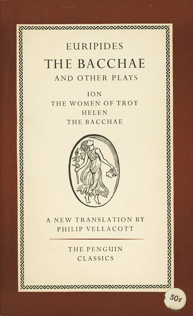 Penguin Books L44 - Euripides - The Bacchae