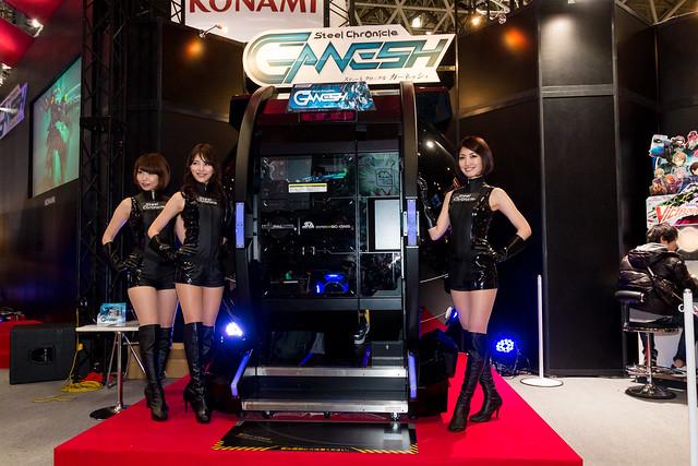KONAMI -Japan Amusement EXPO (JAEPO) 2014 (Makuhari, Chiba, Japan)
