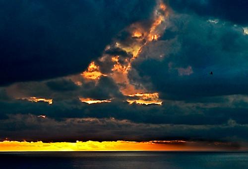 california sunset sky storm clouds goose pacificocean palosverdes adversity vicentepoint