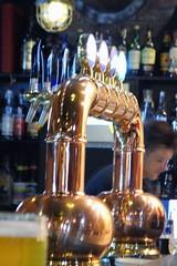 Beer Taps, Ursus Beer Factory, Cluj, Romania