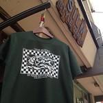 納品前にパシャリ。フォレストグリーン×ホワイトの安定感やばい。Moffyあざっす。 #tee #tshirt #tshirts #ourmotto #diy