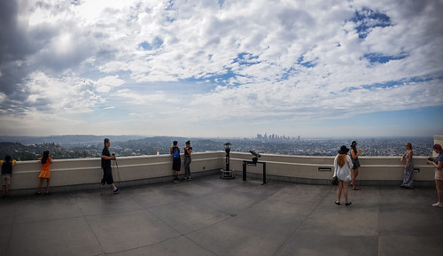 One of the best views of #DTLA  #griffithobservatory #losangeles #scenic #view #cityscape #enjoyingtheview
