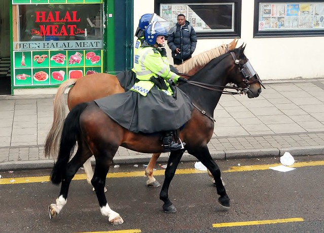 Two Women Mounted Met Police Officers