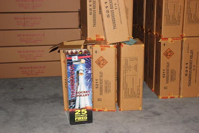 Wyn Testing Epic Fireworks May 2013