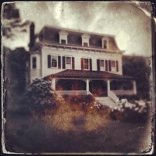 House at Presby Memorial Iris Gardens