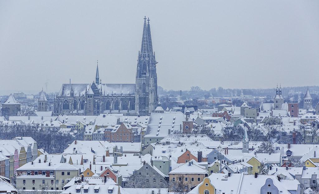 Regensburg Schnee
